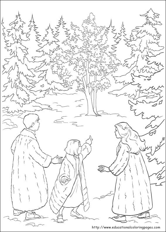 The Chronicles of Narnia Coloring Pages  Educational Fun Kids