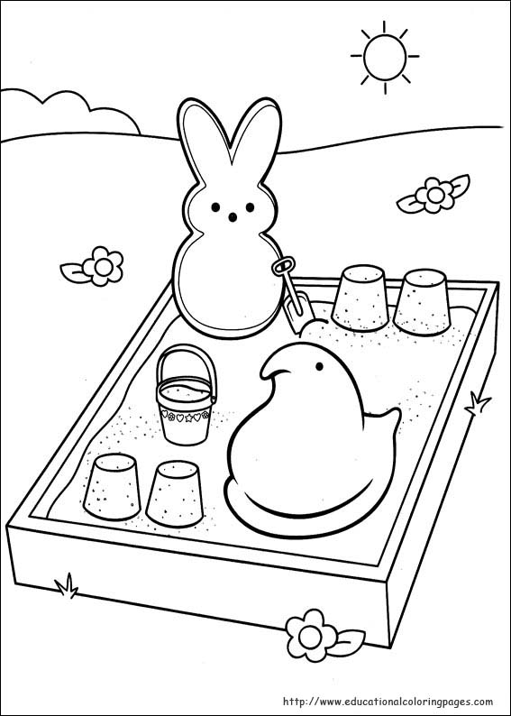peeps coloring pages - photo#3