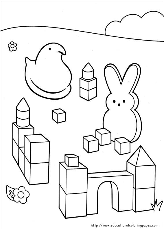 peeps coloring pages - photo#10