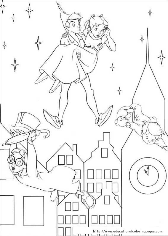 Free Printable Peter Pan Coloring Pages For Kids | 794x567