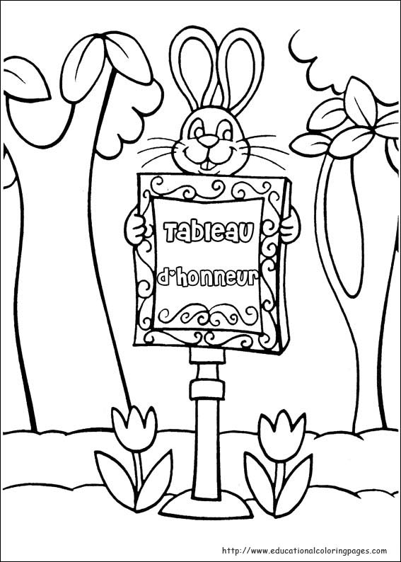 peter cottontail coloring pages - photo#33