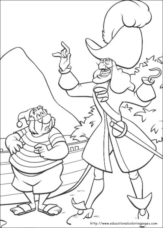 peter pan 2 coloring pages - photo#9