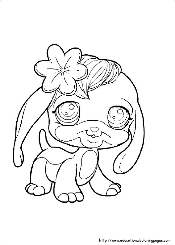 Pet Shop Coloring Pages free For