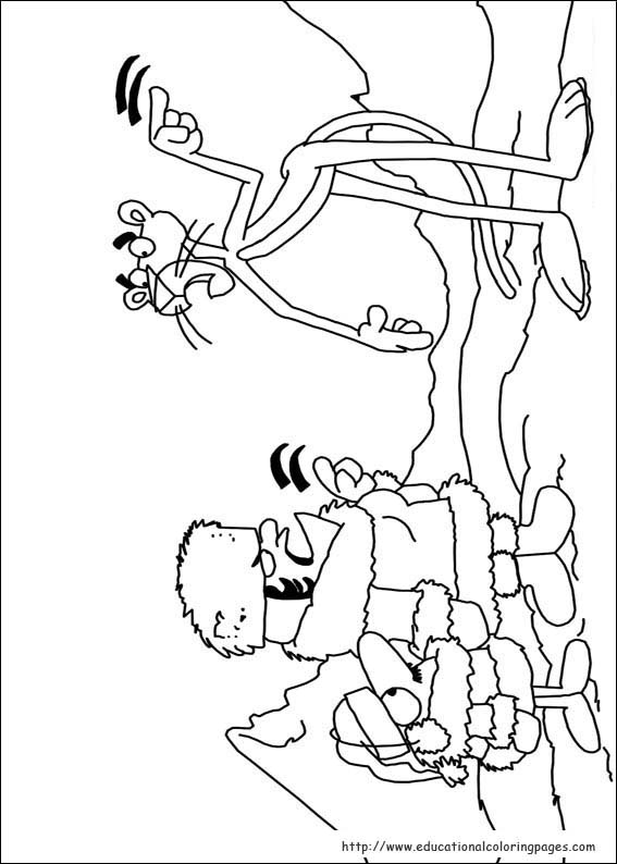 Pink Panther Coloring Pages Educational