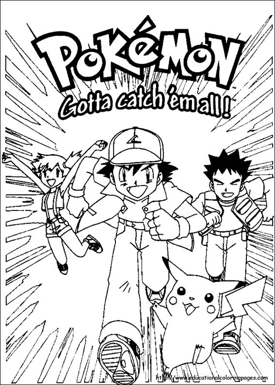 Coloring Pages For Kids Pokemon