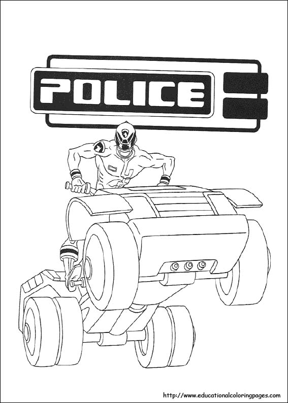 Barbie Coloring Pages Power Rangers : Power rangers coloring pages free for kids