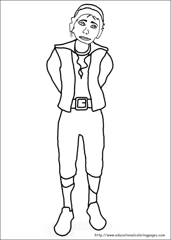 Puss in boots coloring pages educational fun kids for Puss in boots movie coloring pages