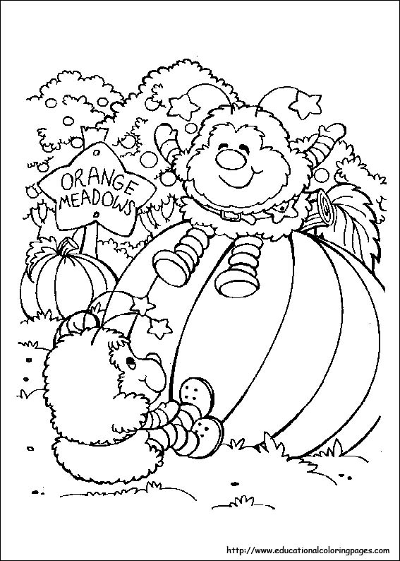 Rainbowbrite Coloring Pages Educational