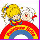 Rainnbow Brite coloring pages