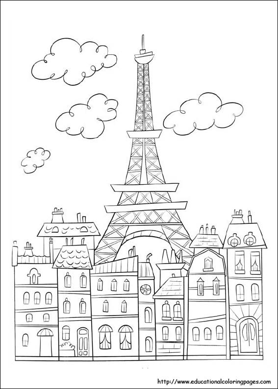 Ratatouille Coloring Pages Educational Fun Kids Coloring