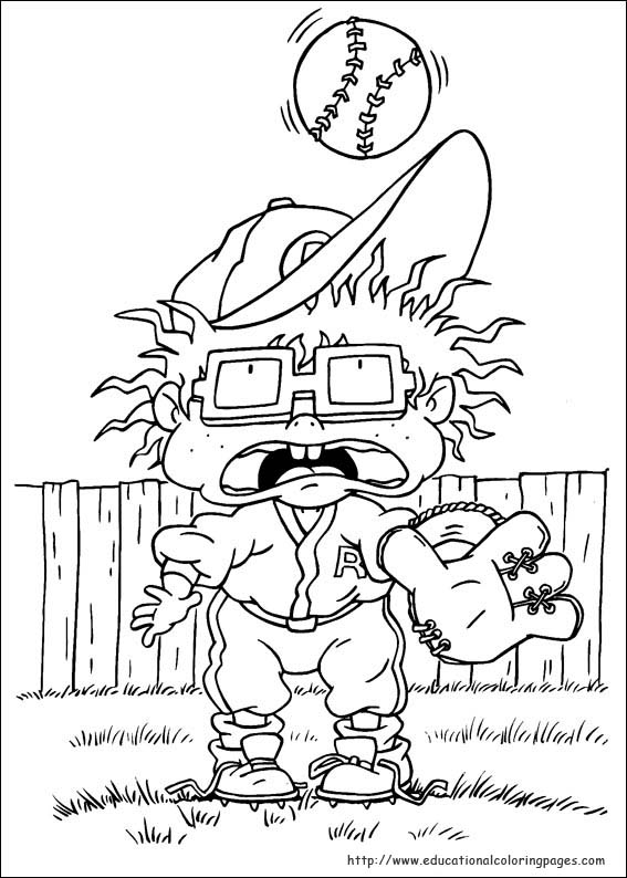 Rugrats Coloring Pages - Educational Fun Kids Coloring Pages and ...