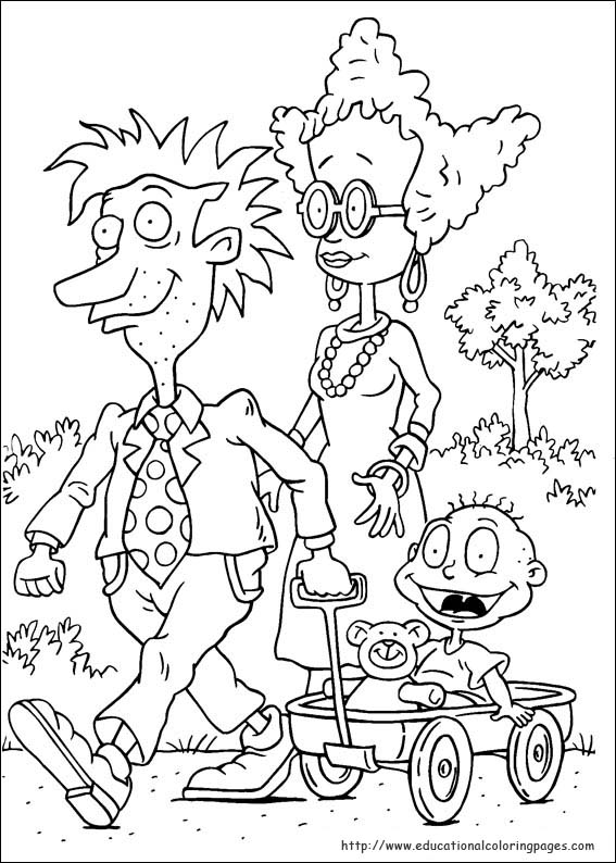 angelica rugrats coloring pages - photo#33