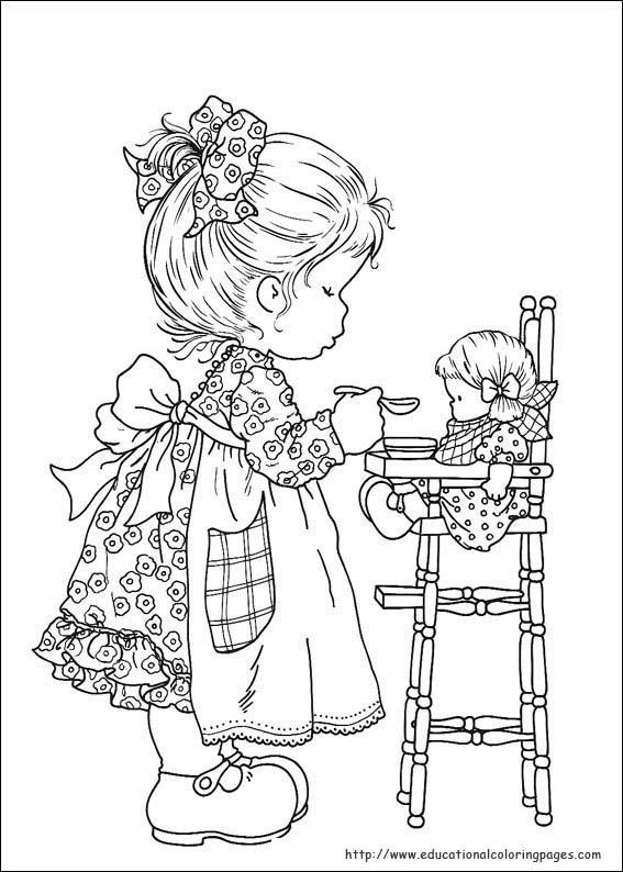 Sarah Kay Coloring Pages Educational