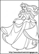 Sleeping Beauty Printable Coloring Pages - Coloring Home | 220x157