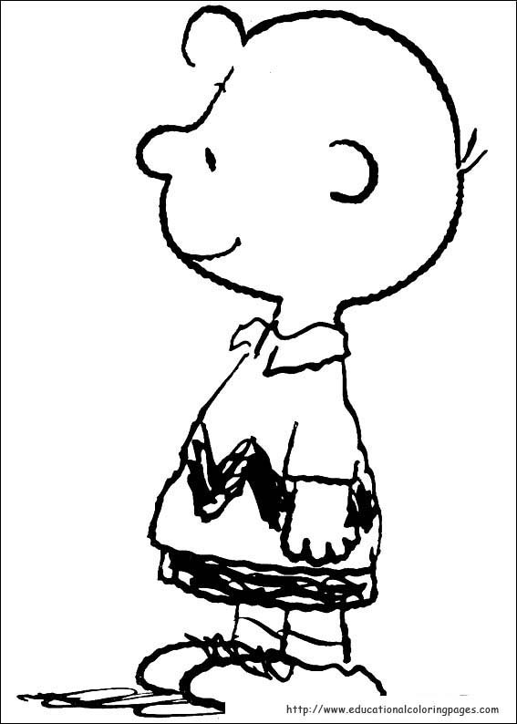 Snoopy Coloring Pages Educational