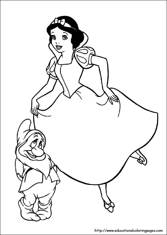 snow white coloring pages snow white coloring pages free for kids
