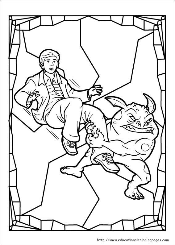 Spiderwick Coloring Pages Educational