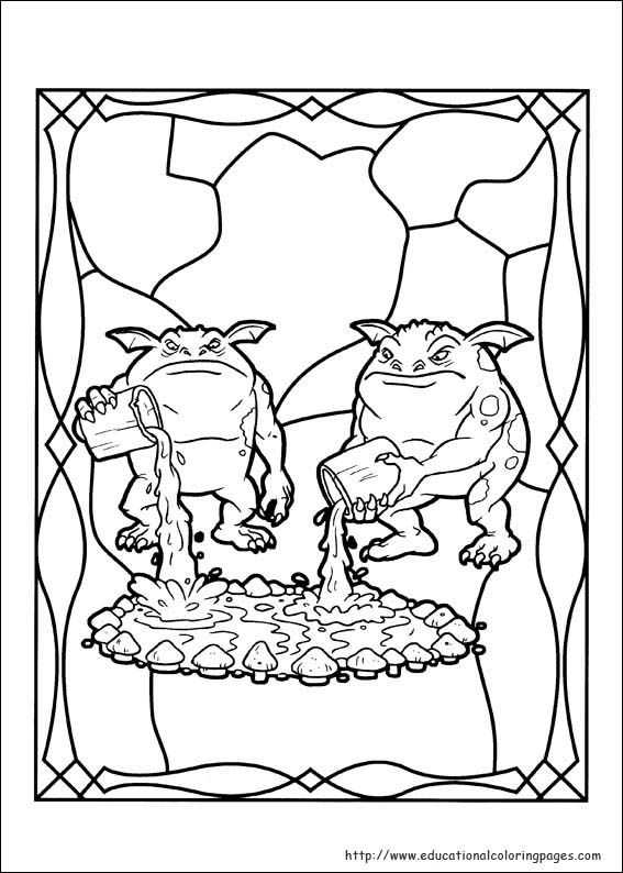 Spiderwick Coloring Pages Educational Fun Kids Coloring