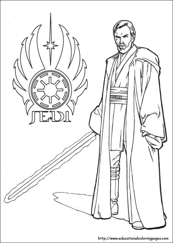 star wars coloring page - Star Wars Coloring Pages
