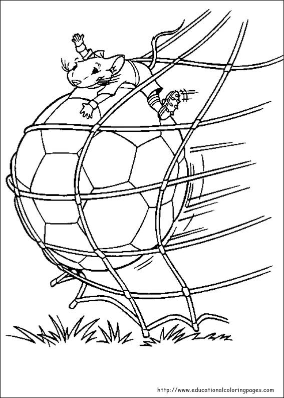 Stuart Little Coloring Pages
