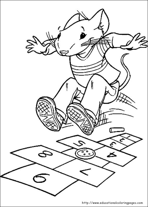 Stuart Little Coloring Pages Educational Fun Kids Coloring Pages