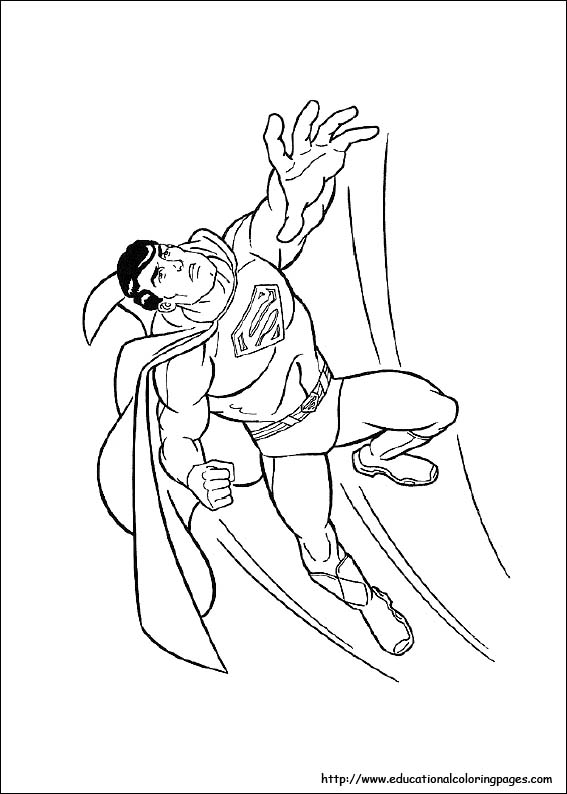 superman coloring pages images - photo#23