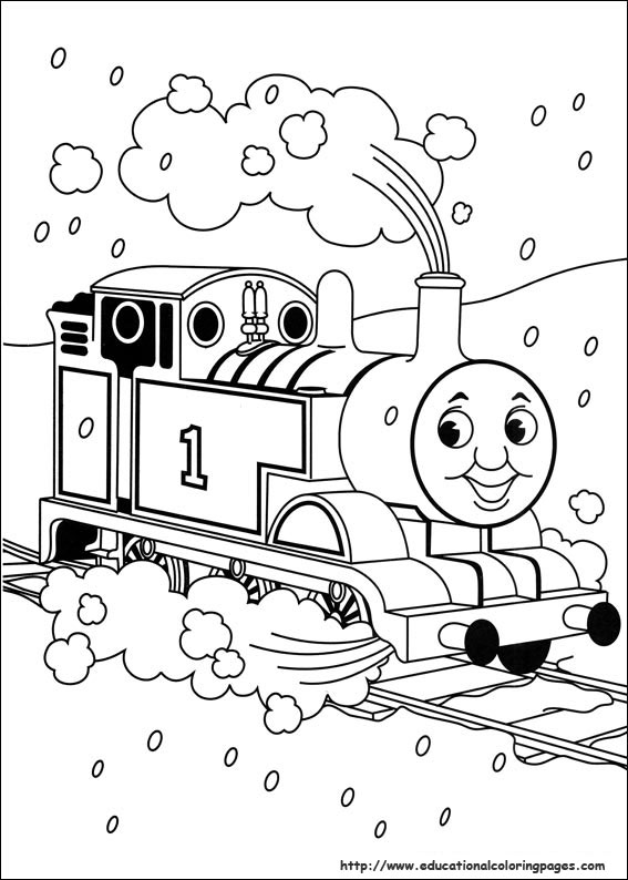 thomas friends coloring pages educational fun kids coloring