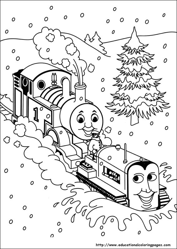 bookmark - Thomas Friends Coloring Pages
