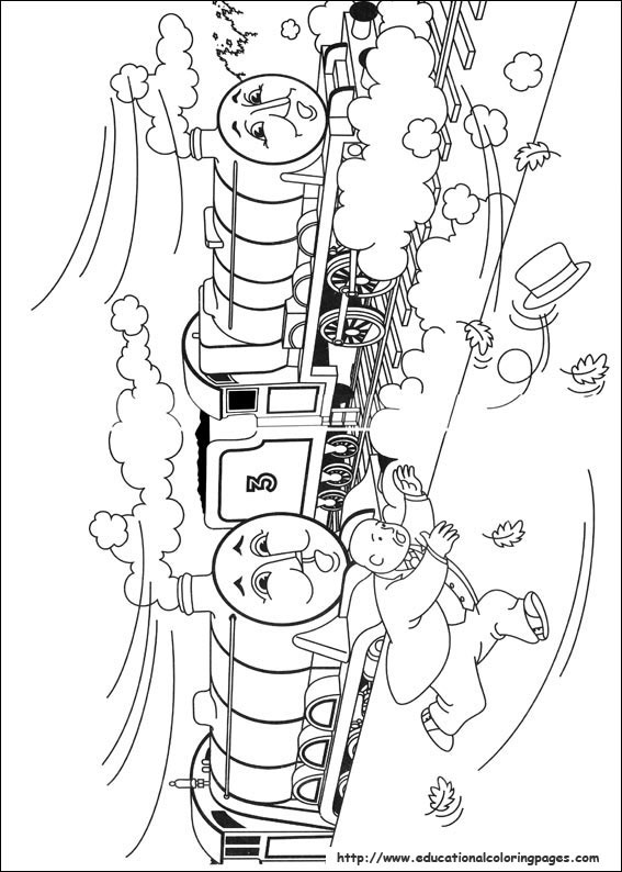 Kleurplaat Disney Kerst Thomas Friends Coloring Pages Educational Fun Kids