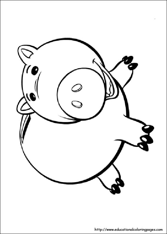 toy story two coloring pages - photo#34