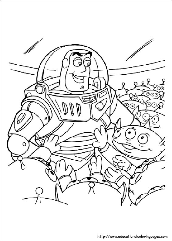 Coloring Pages For Kids toy story 2 coloring pages