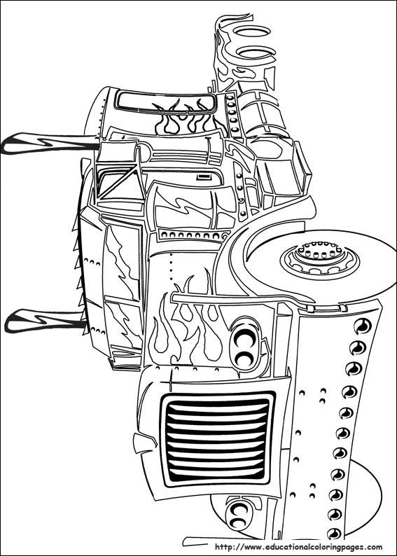 transformers free coloring pages clampdown - photo#29