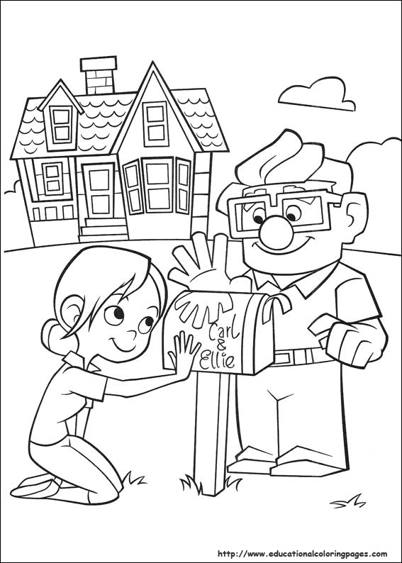 Up Coloring Pages Educational Fun Kids Coloring Pages And Up Coloring Pages