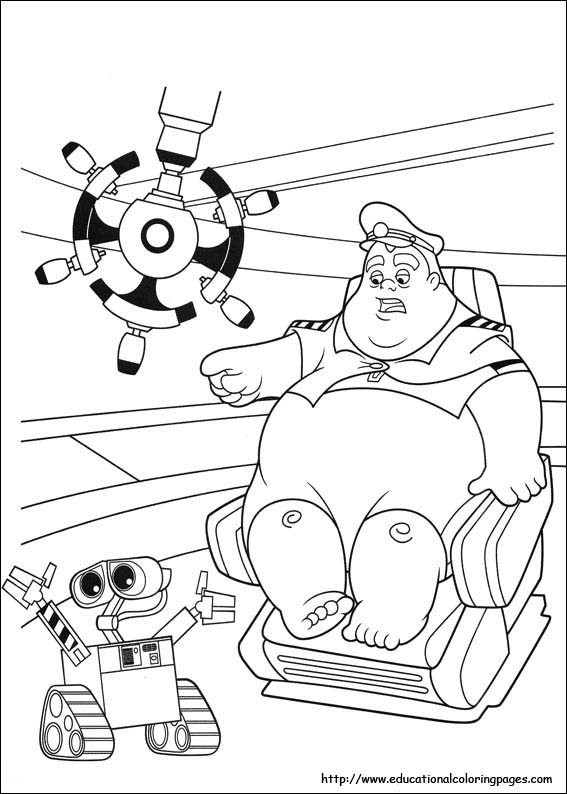 Printable Disney Wall E coloring pages - Printable Coloring Pages For Kids  | Coloriage robot, Coloriage wall e, Coloriage | 794x567