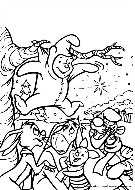 free printable coloring pages winnie the pooh coloring sheets