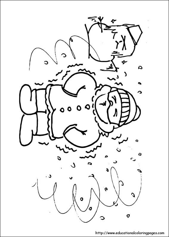 Winter Coloring Pages - Educational Fun Kids Coloring ...
