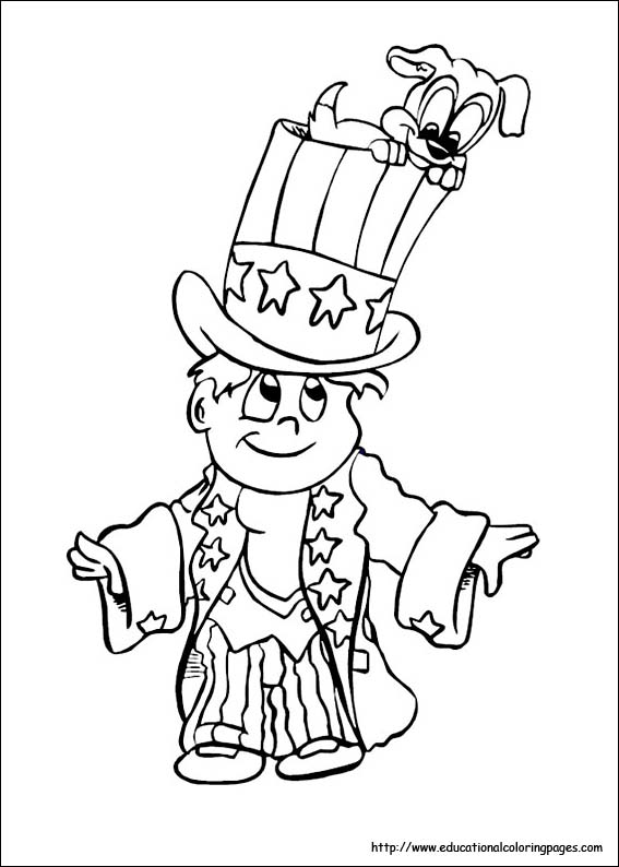 4th of july coloring pages educational fun kids coloring for 4th of july color pages