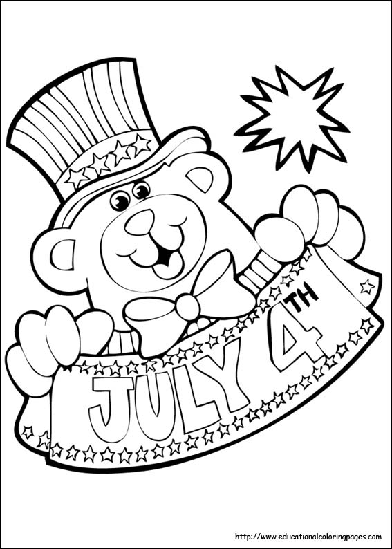 4th of july coloring pages educational fun kids coloring pages and preschool skills worksheets