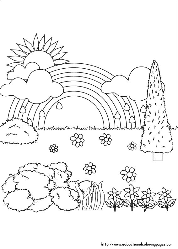 Nature Coloring Pages - Educational Fun Kids Coloring Pages and ...