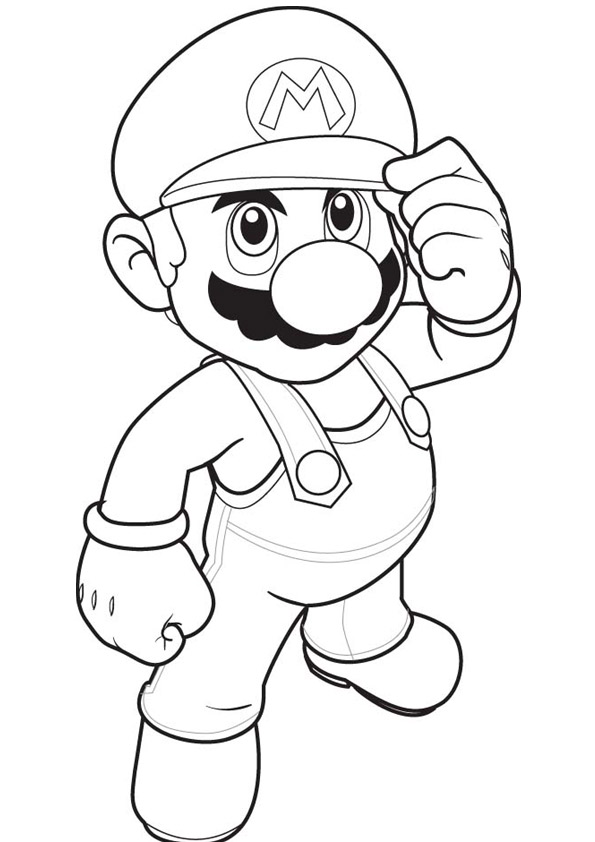 Super Mario Coloring Pages - Educational Fun Kids Coloring Pages and ...