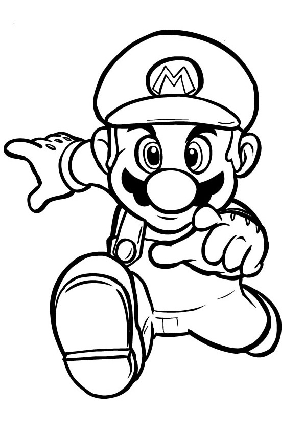 Mario Coloring Pages Coloring2