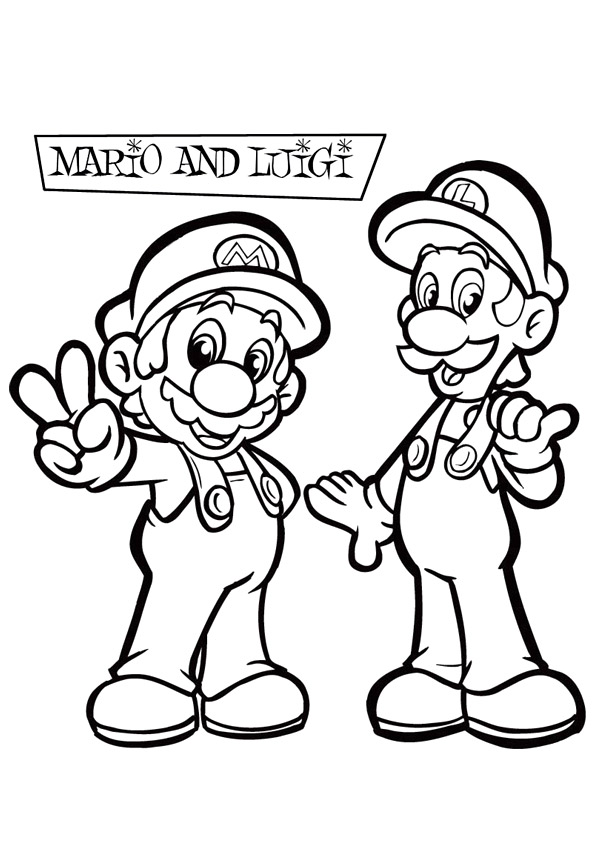 Super Mario Coloring Pages - Educational Fun Kids Coloring