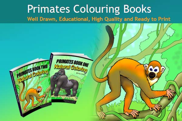 Primates Coloring Pages